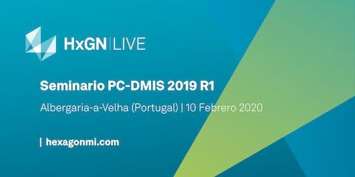 Seminarios PC-DMIS 2019 R1- Albergaria-a-Velha