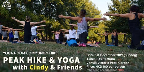 Yoga Room Community Hike - Peak Hike & Yoga with Cindy and friends tickets
