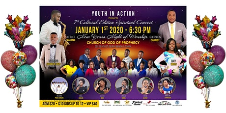 Youth In Action 7th Cultural Edition Spiritual Concert tickets