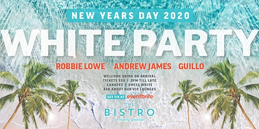 Manly Pavilion NYD White Party