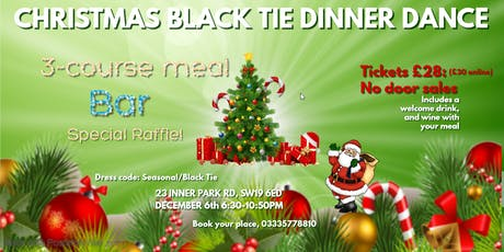 Christmas Black Tie Dance Party tickets