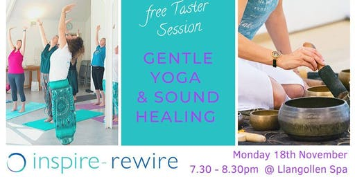 Free taster session - gentle yoga and sound healing