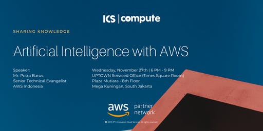 Sharing Knowledge : Artificial Intelligence with AWS