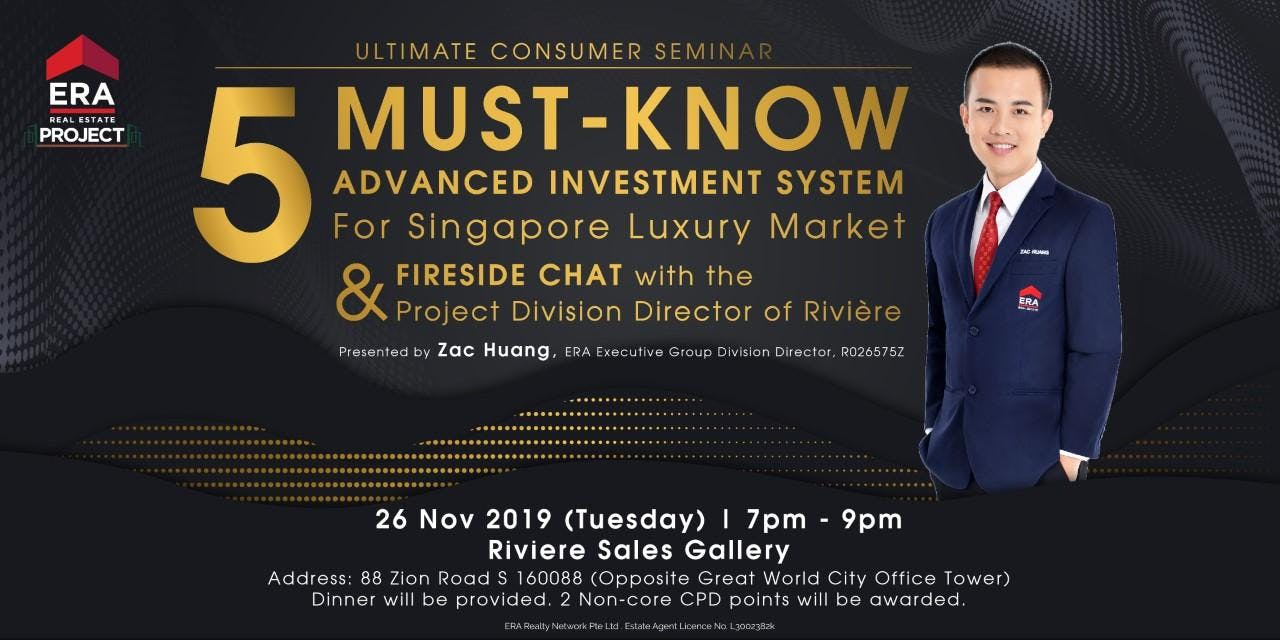 [UCS] 5 MUST-KNOW Investment System For SG Luxury Market & Fireside Chat