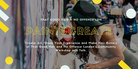 Paint & Create Hair Workshop  tickets