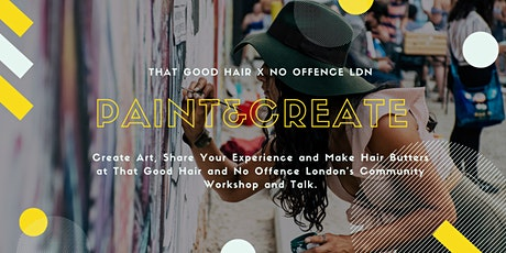 Paint & Create Hair Workshop  tickets