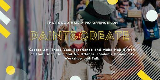 Paint & Create Hair Workshop