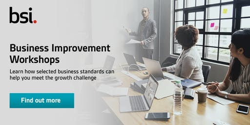SME Business Improvement Workshop