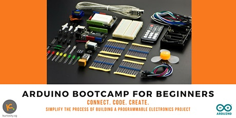 Arduino for Beginners: 2-Day Bootcamp, 13 & 20 Jan 2020 tickets