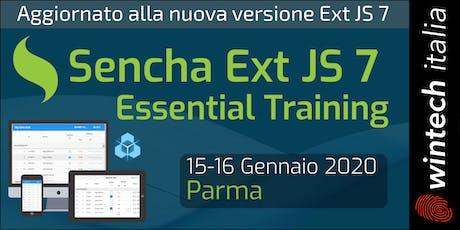Sencha Ext JS 7 Essential Training biglietti