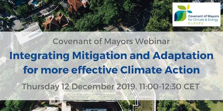 Integrating Mitigation and Adaptation for more effective Climate Action tickets