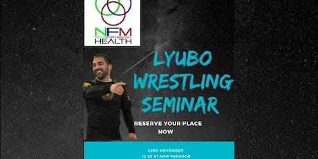 Lyubo kumbarov grappling seminar  tickets