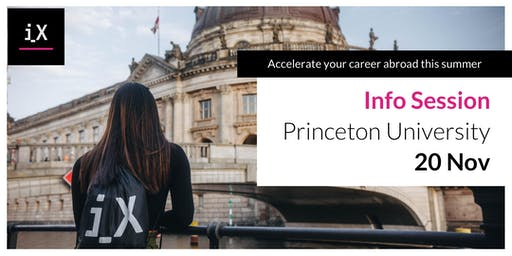 Hear About Career Acceleration Program, iXperience, From Fellow Princeton Students