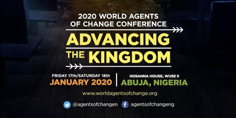2020 WORLD AGENTS OF CHANGE CONFERENCE tickets