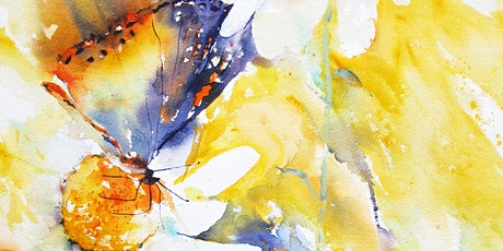 Butterflies and Flowers in Watercolours Day Workshop tickets