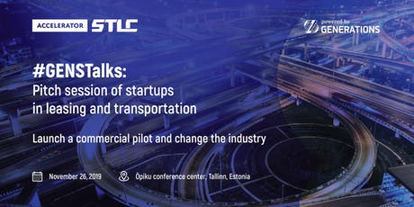 #GENSTalks: Startups meetup and pitch session in transportation industry tickets