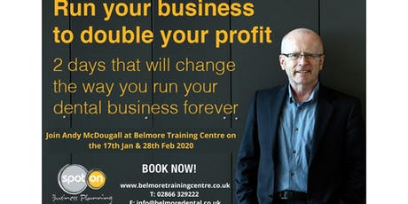 Run Your Practice To Double Your Profits. tickets