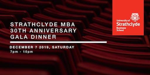 Strathclyde MBA 30th Anniversary Gala Dinner