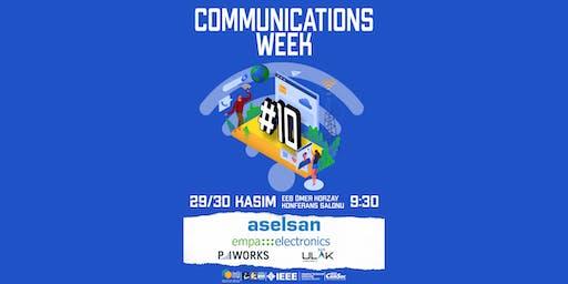Communications Week #10