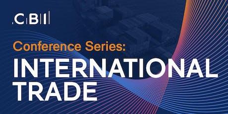 CBI Conference Series: International Trade tickets