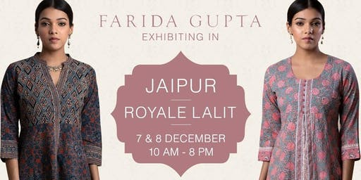 Farida Gupta Jaipur Exhibition