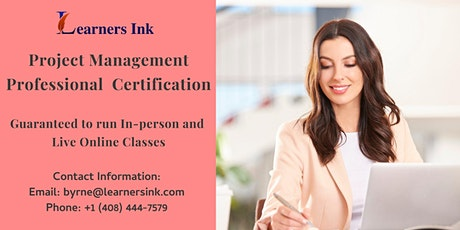 Project Management Professional Certification Training (PMP® Bootcamp) in Sherbrooke tickets