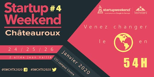 Techstars Startup Weekend Chateauroux #4