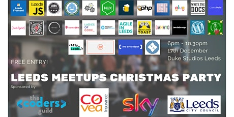 Leeds Meetups Christmas Party tickets