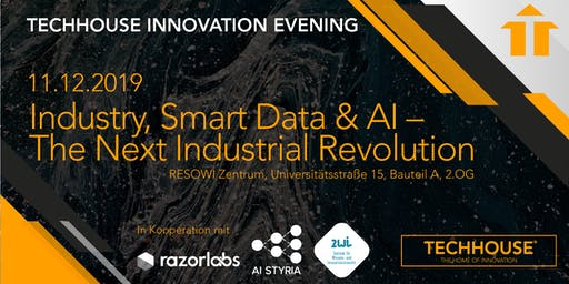 Innovation Evening - Industry, Smart Data & AI