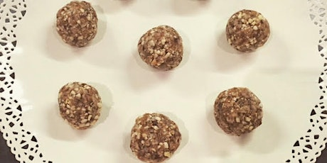 Energy Ball Demonstation and tasting at Almond & Co tickets