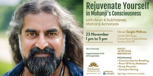 Rejuvenate Yourself in Mohanji's Consciousness (Swindon)