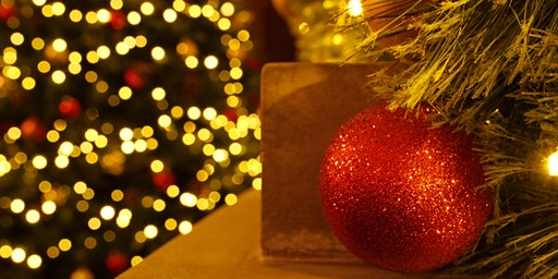 Christmas experience and a three course dinner