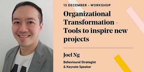 Organizational Transformation - Tools to inspire new projects tickets
