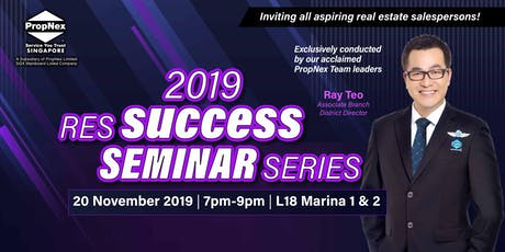 RES Success Seminar (20 November 2019) tickets