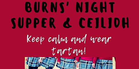 Burns' Night Supper & Ceilidh tickets