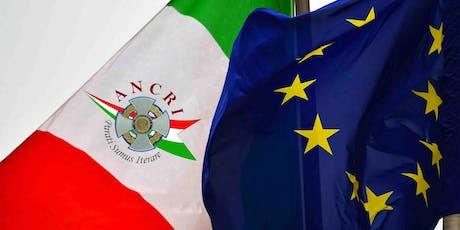 Valori e simboli della Repubblica Italiana e dell'Unione Europea biglietti