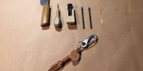 Leather Craft WS with OSAMU - Key Ring tickets