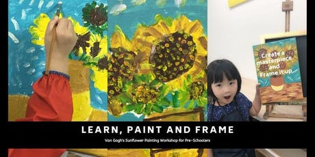 Van Gogh's Sunflower Painting Workshop for Pre-schoolers tickets