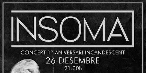 INSOMA + Fatiga + Saudade - 26 Diciembre - Valencia