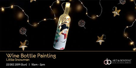 Christmas Workshop : Wine Bottle Painting - Little Snowman tickets