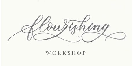 Modern Flourishing Calligraphy Techniques Day Workshop tickets