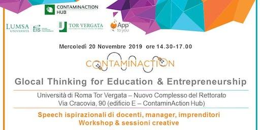 Glocal Thinking for Education & Entrepreneurship