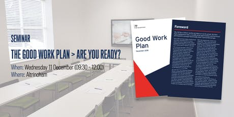 Good Work Plan > Are You Ready? tickets