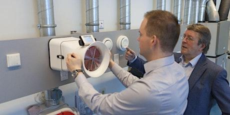 Training inregelen ventilatiesystemen voor de woningbouw tickets