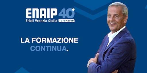 Evento con Enrico Bertolino per i 40 anni di EnAIP FVG