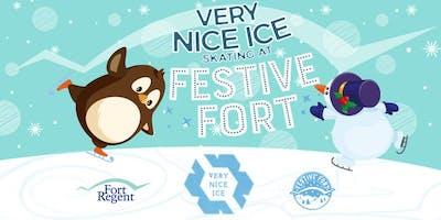 Very Nice Ice Skating at Festive Fort  (Fri 6th Dec to Sun 15th Dec)