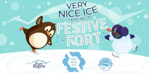 Very Nice Ice Skating at Festive Fort  (Fri 6th Dec to Sun 15th Dec)