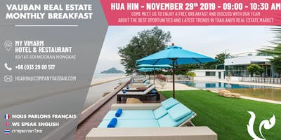 Breakfast with Vauban Real Estate Hua Hin
