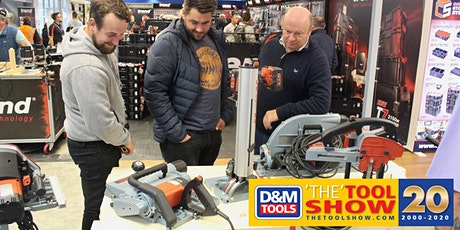 D&M Tools - 'THE' TOOL SHOW '20 tickets