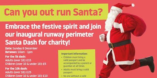London Luton Airport Santa Dash (5K or 10K)